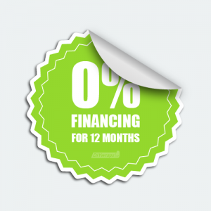 DIYwraps 0% Financing Auto Dealer Decal