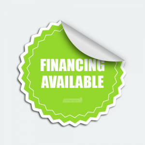 DIYwraps financing available auto dealer decal