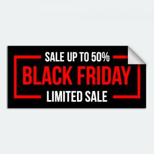 Black Friday Sale Auto Dealer Decal