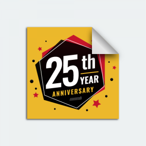 DIYWraps anniversary auto dealer decal