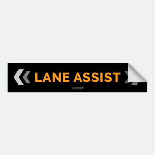 DIYwraps Lane Assist Auto Dealer Decal