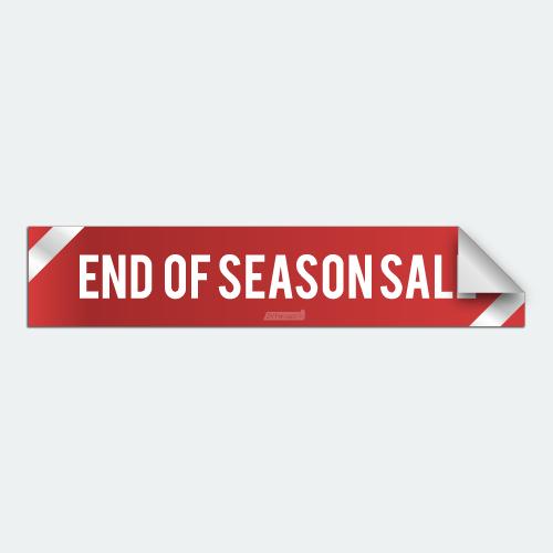 DIYWraps End of Season Sale Auto Dealer Decal