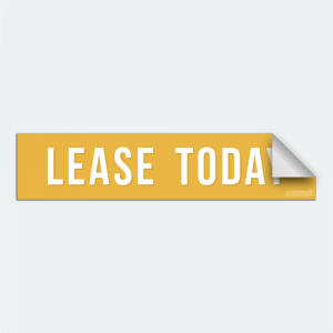 DIYWraps Lease Today Auto Dealer Decal