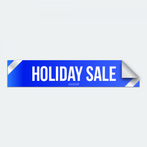 DIYWraps Holiday Sale Auto Dealer Decal