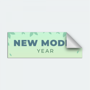 DIYwraps New Model Year Auto Dealer Decal