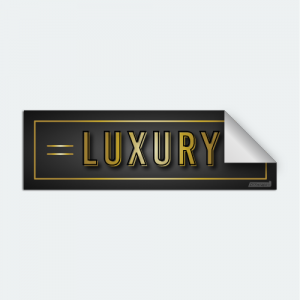 DIYwraps Luxury Collection Auto Dealer Decal