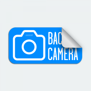 DIYWraps Backup Camera auto dealer marketing decal