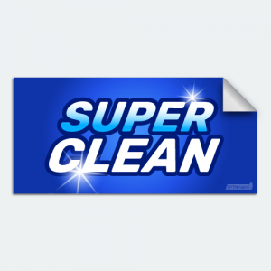 DIYwraps Super Clean Auto Dealer Decal